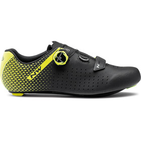 Northwave Core Plus 2 Shoes Men, black/yellow fluo